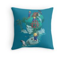 Landscaping Throw Pillow