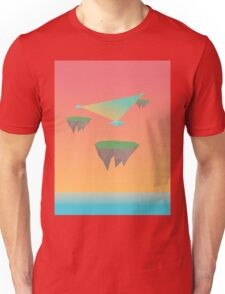 Crystal Islands in The Sky Unisex T-Shirt