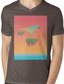 Crystal Islands in The Sky Mens V-Neck T-Shirt