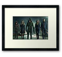 ARROW SEASON 3 | Squad Pic | Poster Framed Print