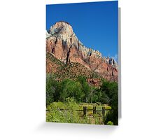 Stroll in the Park ~ Zion Greeting Card
