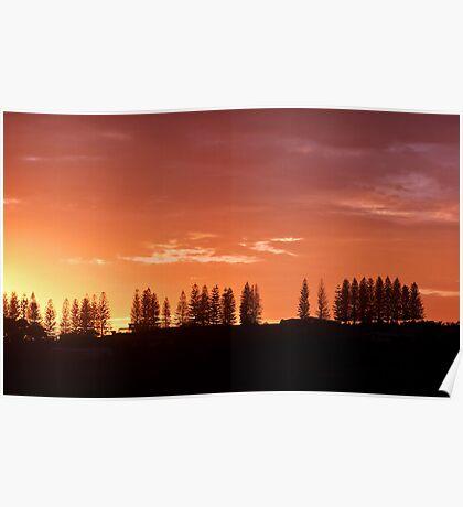 Sunrise Sentinels Poster