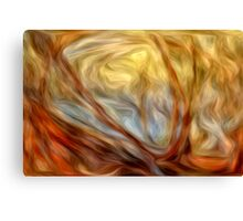 Abstract Colors Oil Painting #8 Canvas Print