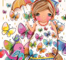 Raining Butterflies by © Karin Taylor