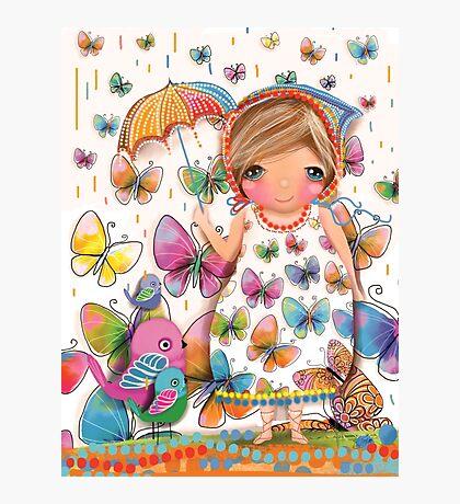 Raining Butterflies Photographic Print