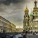 Church of  Savior on Spilled Blood ,Saint-Petersburg by LudaNayvelt