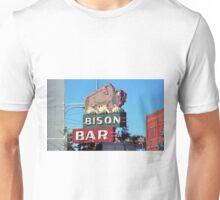 Miles City, Montana - Bison Bar Unisex T-Shirt