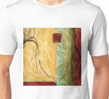 Abstract Colors Oil Painting #9 Unisex T-Shirt