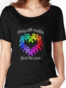 Find The Cure Women's Relaxed Fit T-Shirt