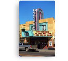 Miles City, Montana - Theater Canvas Print