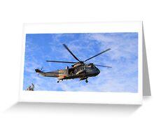 SeaKing Landing Greeting Card
