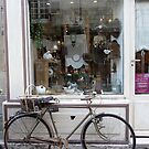 Old-time shopping in Tours, France by Carol Walker