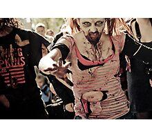 Just ... Run !!! Photographic Print
