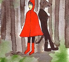 Red And The Wolf by Tessa Chudy