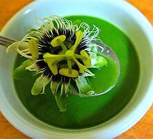 Spinach Soup with a SURPRISE! by D. D.AMO