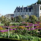 Chateau of Villandry by Carol Walker