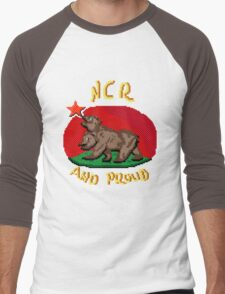 NCR And Proud Men's Baseball ¾ T-Shirt