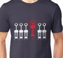 Celebrate in white Unisex T-Shirt