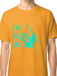 Eat Sleep Ski Classic T-Shirt