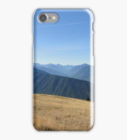 Hurricane Ridge Olympic Peninsula iPhone Case/Skin