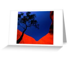 Desert Bloodwood, Uluru, NT Greeting Card