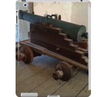 Spanish cannon iPad Case/Skin