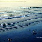 WALKING ON PACIFIC OCEAN BEACH by Jupiter Queen