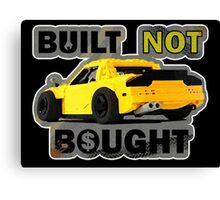 Built not Bought - RX7 Canvas Print