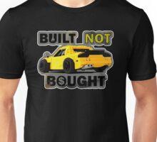 Built not Bought - RX7 Unisex T-Shirt