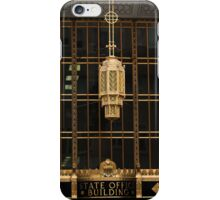 Light Fixture for State Office Building iPhone Case/Skin