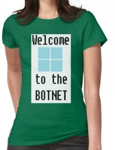 Welcome Womens Fitted T-Shirt