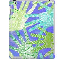All Hands In- Purple/ Green iPad Case/Skin