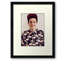 Pete Davidson Framed Print