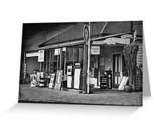 Bates Store Greeting Card
