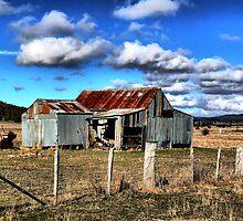 Aussie shed by casperbee
