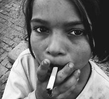 Little homeless girl 2 by zdepe