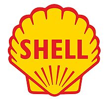 SHELL ROYAL DUTCH OIL OLD VINTAGE LOGO Photographic Print