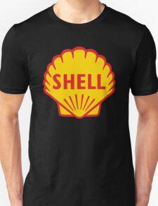 SHELL ROYAL DUTCH OIL OLD VINTAGE LOGO T-Shirt