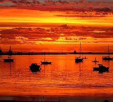 Brilliant Colors of Sunrise by hurky