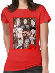 national lampoon's christmas vacation tribute art Womens Fitted T-Shirt