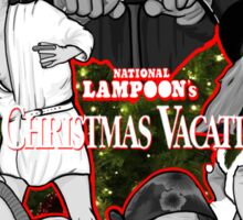national lampoon's christmas vacation tribute art Sticker