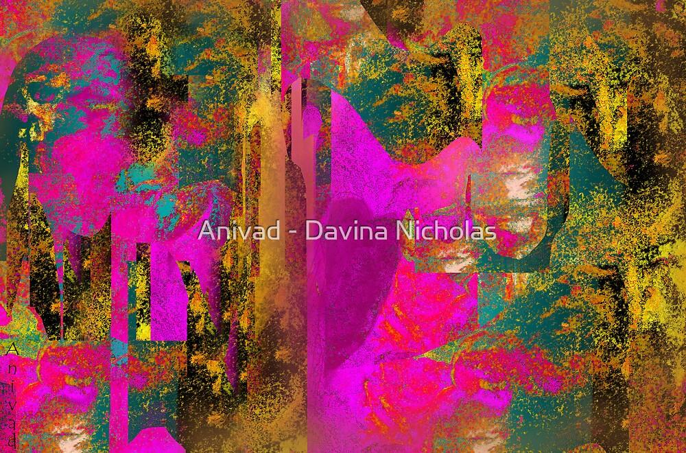 Tapestry Heart by Anivad - Davina Nicholas