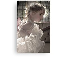 The Flowergirl Canvas Print