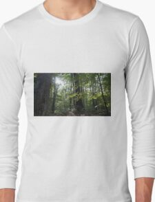 Gleaming Hope in the Forest. Long Sleeve T-Shirt