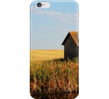 fall on the prairies iPhone Case/Skin