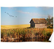 fall on the prairies Poster