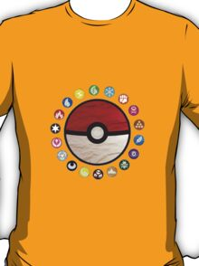 Pokemon pokeball - yellow T-Shirt