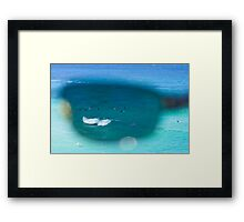 The Surfers At Tamarama Beach - Sydney Framed Print