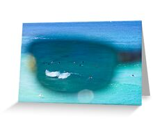 The Surfers At Tamarama Beach - Sydney Greeting Card