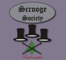 Bah Humbug Scrooge Society  tee design by patjila